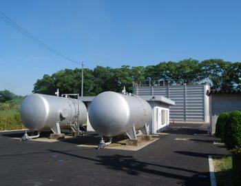 2010年竣工 配水場