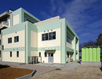 2013年竣工 中学校給食センター