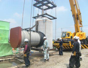2015年竣工 下水管布設