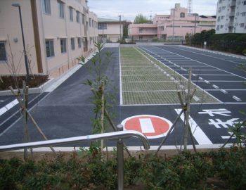 2017年竣工 駐車場整備