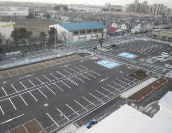 2017年竣工 駐車場整備他