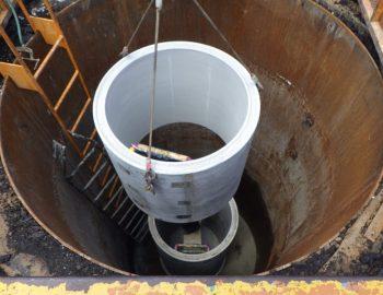 2020年竣工 汚水管築造