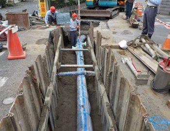 2020年竣工 配水支管布設